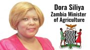 Zambia agriculture minister Siliya