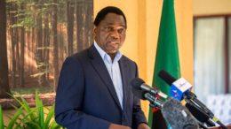 Hakainde HICHILEMA President Zambia